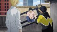 Eiji tells Ash that Sing was trying to help us