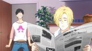 Eiji gets mad at Ash