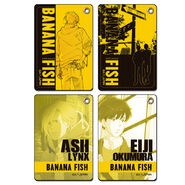 Banana Fish Leather Pass Case