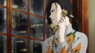 Yut-Lung tells his bodyguards to keep a close eye on Sing and Eiji