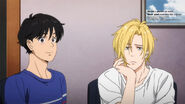 Jessica tells Eiji and Ash want to become a model for our magazine