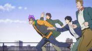 Shorter runs with Eiji