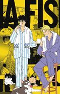 Ash and Eiji in there pjamas