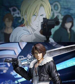 Ash and Squall