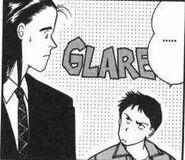 Sing glares at Blanca