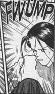 Yut-Lung gets hit hard and falls down