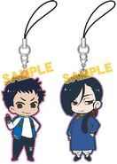 0018238 banana-fish-movic-yut-lung-sing-rubber-strap-set
