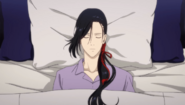 Yut-Lung unconcious in bed