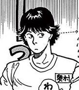 Eiji stares at Shunichi