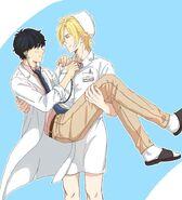 Nurse Ash and Doctor Eiji