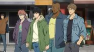 Alex tells Eiji, Bones, and Kong they're mad at us about Shorter, so don't fight back