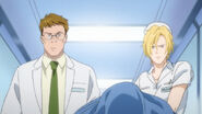 Ash disguised as nurse Barbara and Max disguised as a docter