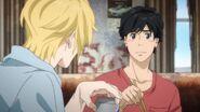 Ash tells Eiji what