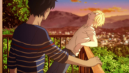 Ash tells Eiji those who fed me or gave me a place to sleep always expected something back