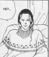 Yut-Lung says hello to Sing in Manga