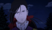 Yut-Lung looks at Sing with the helicopter blowing