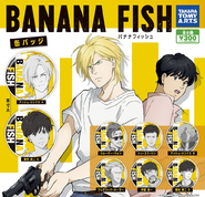 Banana Fish badges 2