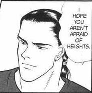 Blanca affectionatly asks Sing if he isn't afraid of heights