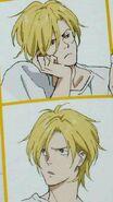 A few of Ash's expressions