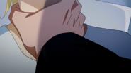 Golzine grabs Ash by the throat