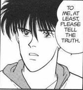 Eiji asks Ash to at least tell him the truth