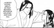 Blanca tells Yut-Lung no one knows about his past except for Golzine and now Yut-Lung