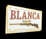 Banana Fish Cafe&Bar Badge Blanca