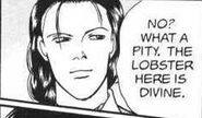 Yut-Lung tells Lao that the lobster here is divine
