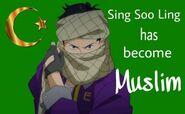 Sing Soo-Ling has become Muslim