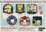 Banana Fish rubber straps