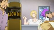 Ash tells Jessica could you pass the mustard, old lady