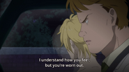 Max tells Ash that he understands how he feels but he's worn out