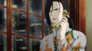 Yut-Lung in his flower sweater