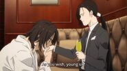 Blanca tells Yut-Lung as you wish, young sir