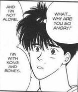 Eiji asks Ash why he's so angry