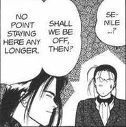 Yut-Lung questions Blanca about senile