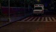 Max stops the ambulance