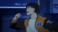 Eiji tells himself Ash don't die