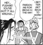 Yut-Lung hides his laughter