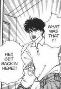 Eiji goes to see what is going on