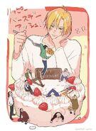Banana Fish happy birthday Ash