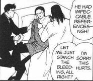 Yut-Lung being treated