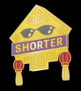 Banana Fish Cafe&Bar Badge Shorter