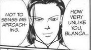 Yut-Lung tells Blanca that it is very unlike him to not sense Yut-Lung approaching