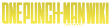 One Punch-Man Wiki-wordmark