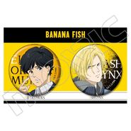 Can badges Eiji and Ash