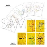 0017837 banana-fish-mappa-limited-goods-animation-art-clear-file-set