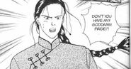 Yut-Lung tells Ash if he has any pride