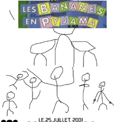 French international poster for the film, released on July 24, 2001.
