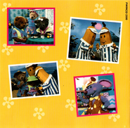 Bananas in Pyjamas The Album - Back Cover